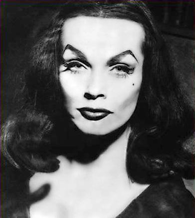 Ms.Maila Nurmi-She put the VA in Vampira and that waist