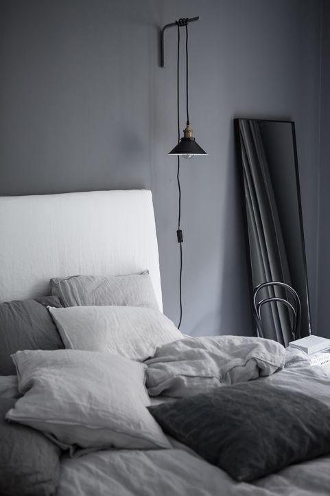 Is To Me interior inspiration | Grey bedroom | Alvhem