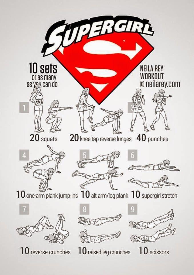 Resultado de imagen de rutina entrenamiento batgirl