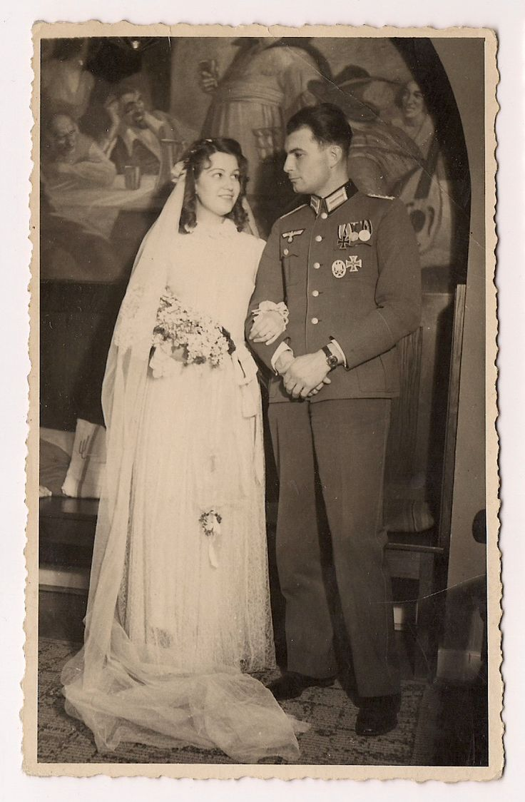 WW2 German Soldier Wehrmacht w Medals Bride | GERMAN ...