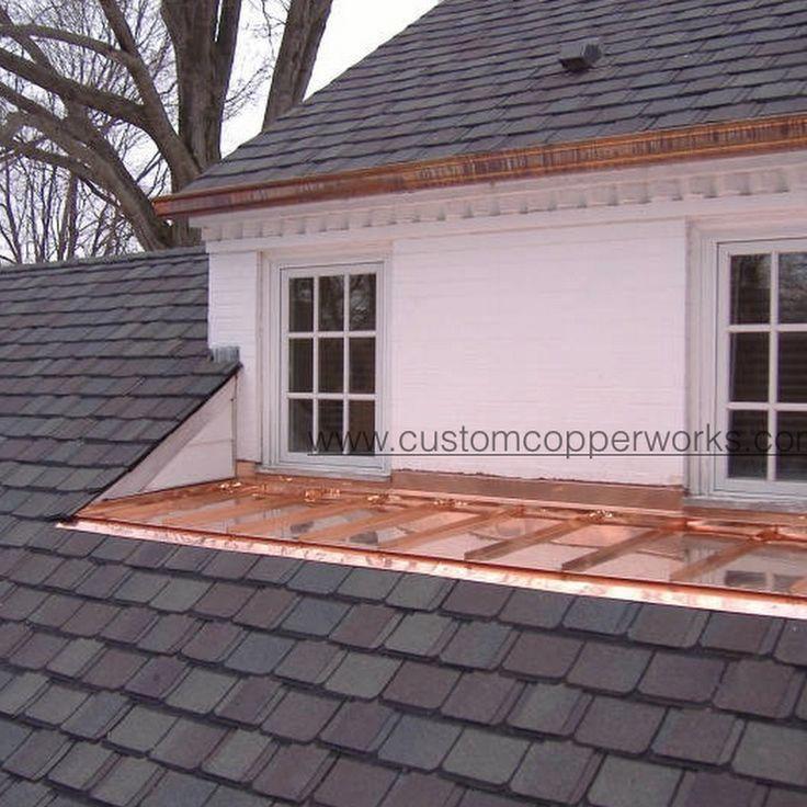 This Decorative Gutters Is Truly A Superb Design Procedure Decorativegutters In 2020 Copper Roof Corrugated Roofing Standing Seam