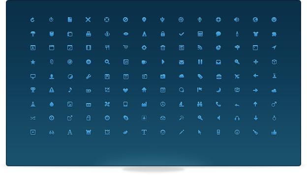 Bijou Icons #freebie #icons #ui #webdesign