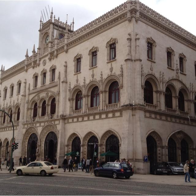 Lisbon Starbucks.