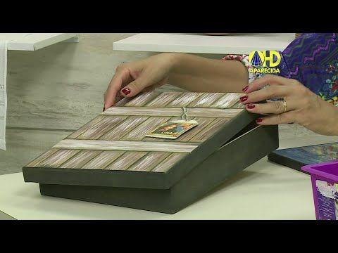 Vida com Arte | Caixa com Efeito de Madeira por Luiz Poletti - 28 de Jan...