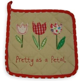 Gisela Graham Bright Patch Pot Holder - Another Gorgeous Day