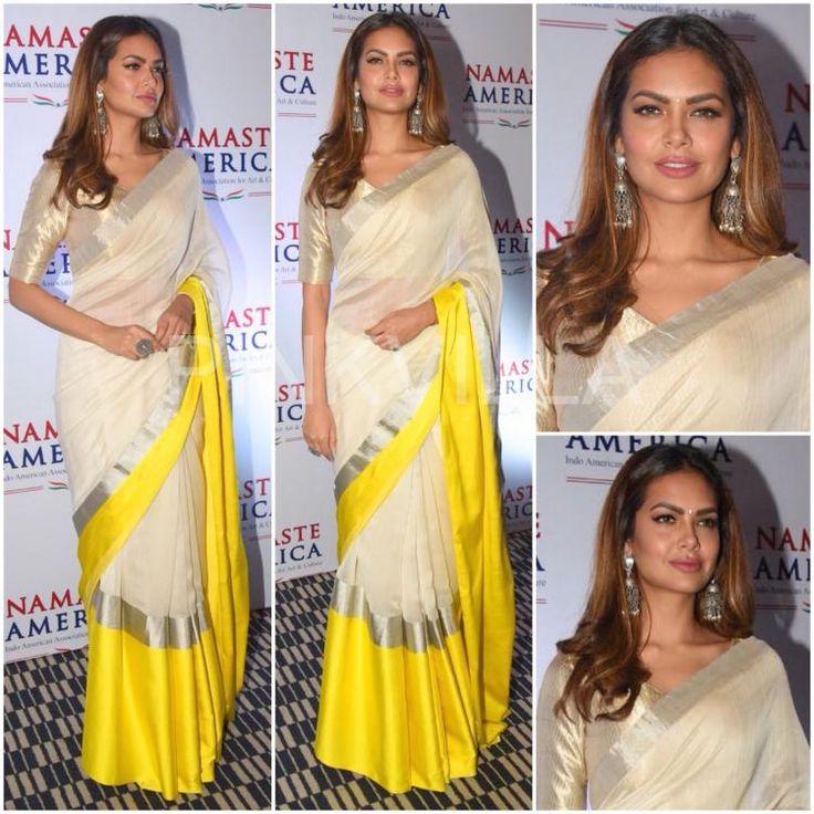 Celebrity Style,esha gupta,Raw Mango,Mohit Rai,Raw Mango by Sanjay Garg