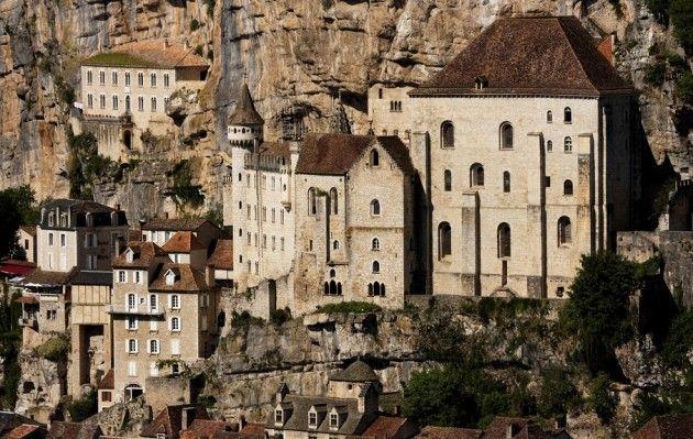 Niezwykły zakątek Francji - Rocamadour - miasto przyklejone do skał - Galeria - Turystyka - WP.PL