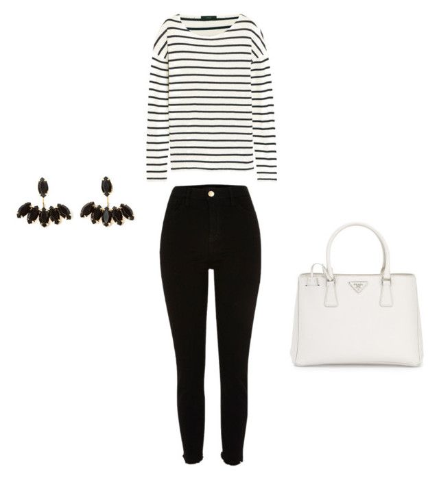 """""""Untitled #49"""" by erikaelena23 on Polyvore featuring J.Crew and Prada"""