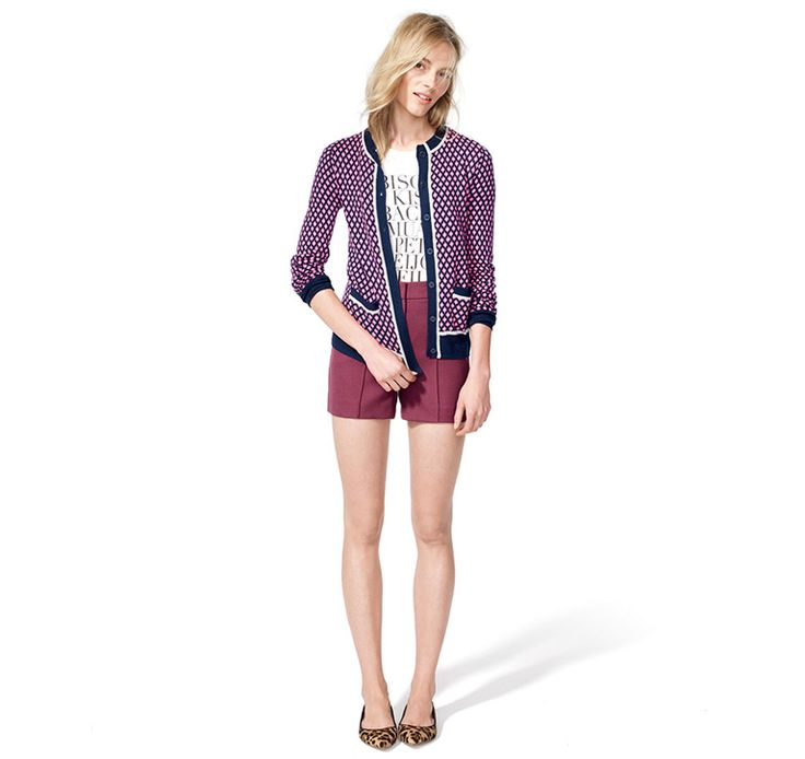 J.Crew: Looks We Love --> I would kill for this cardigan.