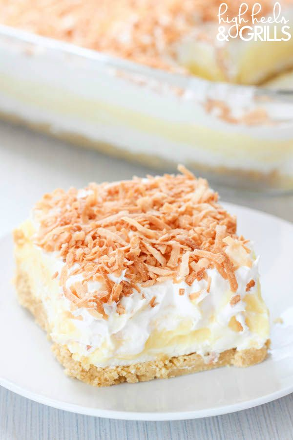 Coconut Cream Dreamboat Dessert 2