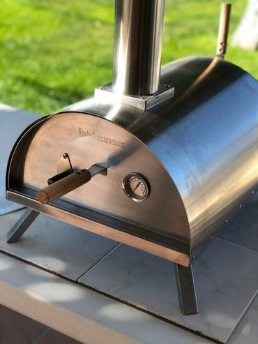 Portable Wood Pellet Pizza Oven Wppo Wood Pellets Wood