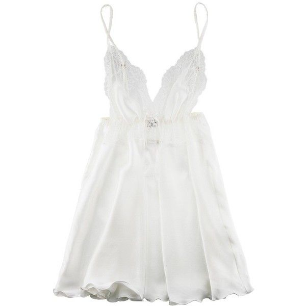 Myla Angelica Classic chemise ($128) ❤ liked on Polyvore