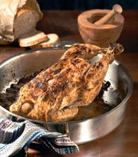HomeFood.gr - Συνταγές - Κόκορας με μανιτάρια και μπίρα