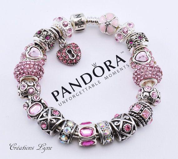 Au choix Authentique bracelet PANDORA argent par CreationsLyne