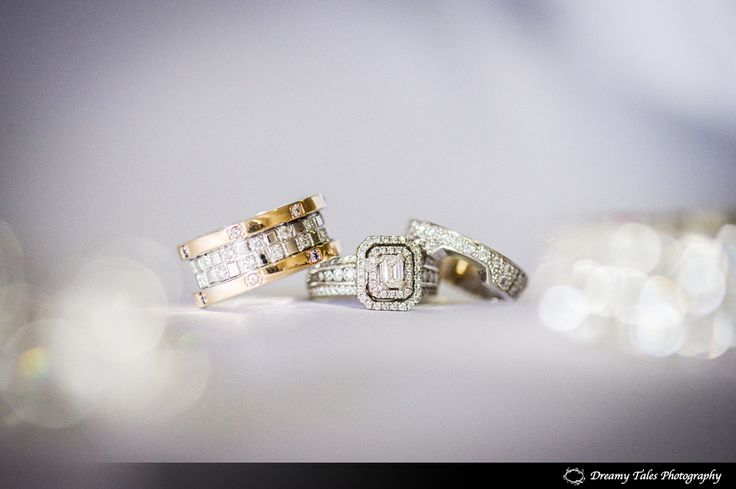 Wedding Photography- Bride and Groom wedding ring and engagement ring