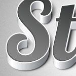 Create a Quick and Easy 3D Type Effect with Adobe Illustrator and Photoshop.