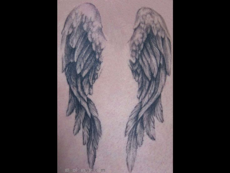 25 beautiful angel wings back tattoo ideas on pinterest angel angel wings tattoo my angel wing tatt done by richard morrissette at planet ink in ottawa i got this tatt done as a tribute to my parents as they really urmus Gallery