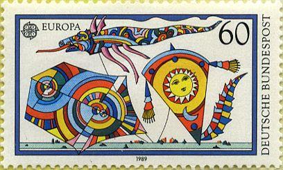Europa 1989: Juegos de niños 05/05/1989 República Federal Alemana