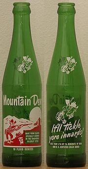 """And if you drank Mountain Dew, you'll remember that """"It'll tickle yore innards""""!"""