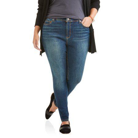 Petite Bandolino Women's Plus Millenial Curvy Jean, Size: 16W Petite