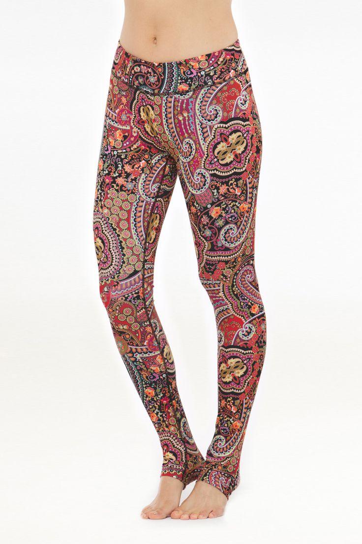 KiraGrace  - Grace Yoga Tight (Red Paisley), $98.00 (http://www.kiragrace.com/grace-yoga-tight-red-paisley/)