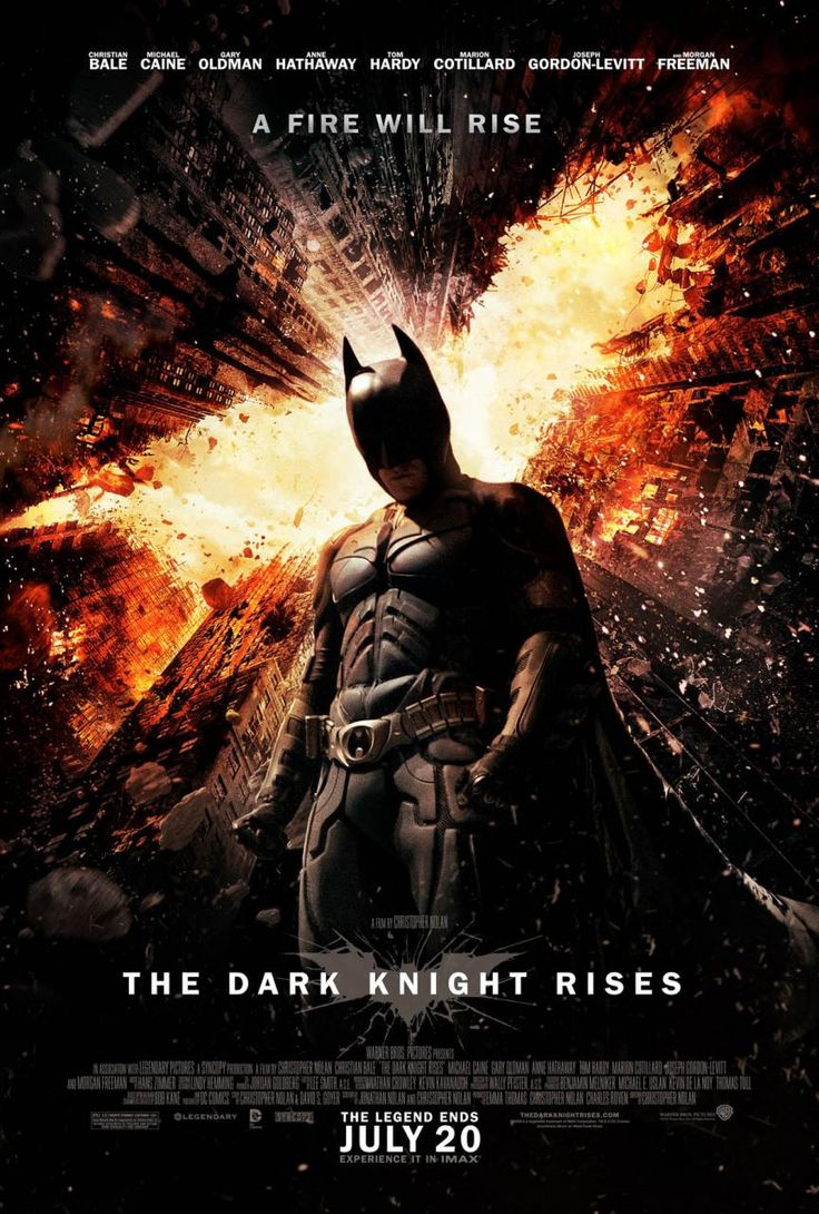 I'd like to see this. Dark Knight Rises.