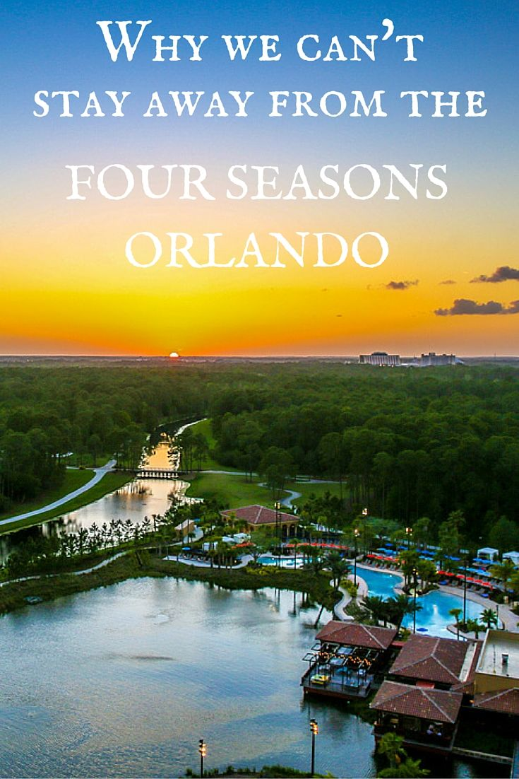 The Four Seasons Orlando is the definitive luxury experience in Walt Disney World resorts. See why we think it's the best in a series of photographs.