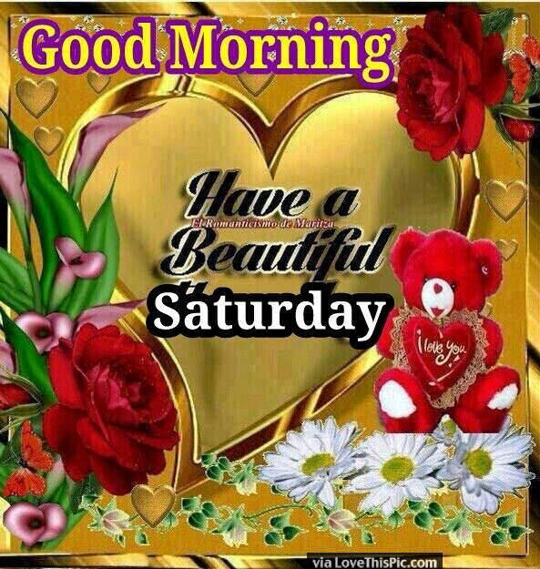Good Morning Happy Saturday Quote For Facebook
