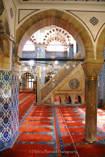 Rüstempaşa Camii, (Rüstem Pasha Mosque), Istanbul