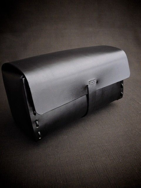 'James' is our latest handmade leather Dopp Kit/Toiletry Bag.    Hand crafted and built to last.
