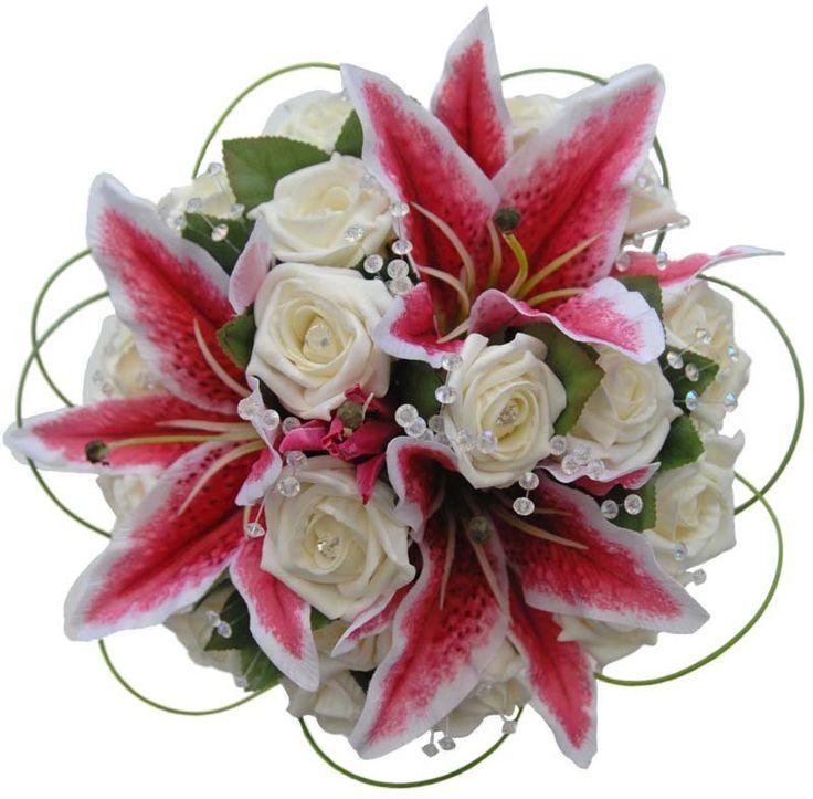 best oriental lily  stargazer wedding flowers images on, Beautiful flower