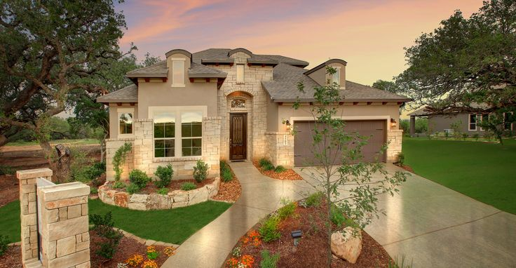 New Imagine Homes model home in Amorosa in Cibolo Canyons 4503