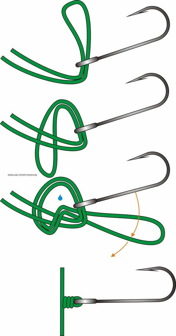 25 best ideas about fishing knots on pinterest tying for Best fishing hook knot