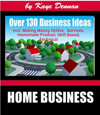 Home Business Series - A list of over 130 Home Business Ideas. Available from Amazon Kindle. Double click the pic for the link.