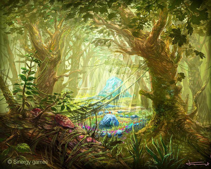 Fairy_garden | Midsummer Night's Dream | Pinterest | Woods ...