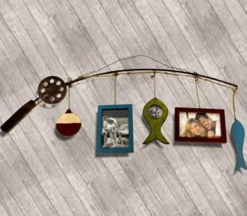 Pin by anna lawson on nursery pinterest for Fishing picture frame