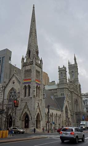 Arch Street United Methodist Church. Philadelphia, Pennsylvania.