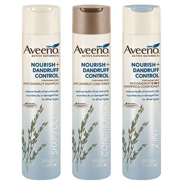 $3 off AVEENO® NOURISH+ DANDRUFF CONTROL Hair Care