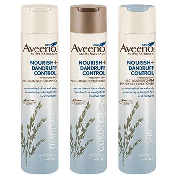 $3 off AVEENO® NOURISH+ DANDRUFF CONTROL Hair Care
