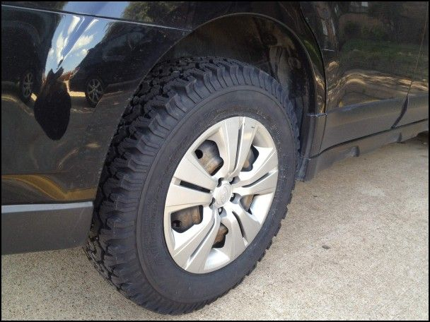 Best Tires for 2010 Subaru forester