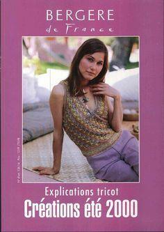 Magazine: Bergere de France - Créations Spéciales - réseau Tricoter - MAINS CREATIVE - Editeur - LIGNES DE VIE