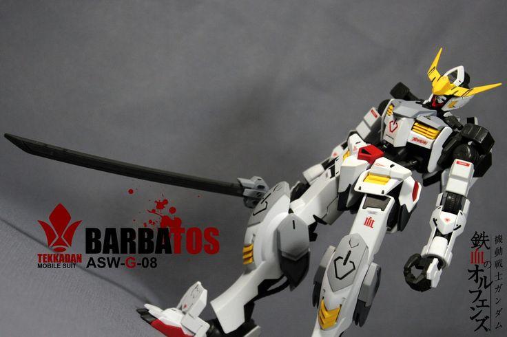 Barbatos gundam 1:100 casual paint