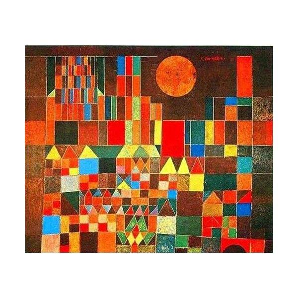 """Paul Klee """"Château et Soleil"""""""