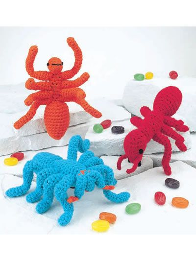 Free Crochet Creepy Crawlers Pattern