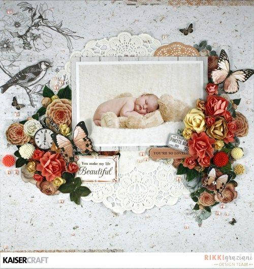 Kaisercraft - Ooh La La - Kylie Kingham