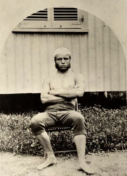 Theodore Roosevelt age 19 during his freshman year at Harvard, 1877