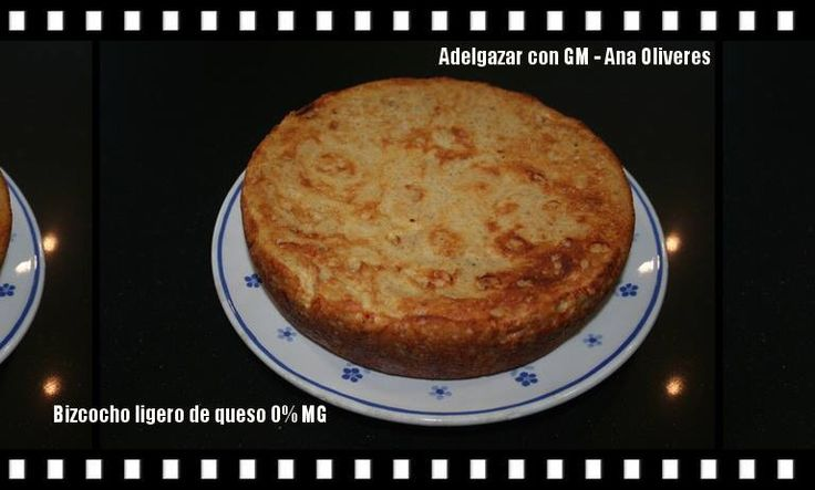 Bizcocho ligero de queso en olla programable GM Receta en el grupo ADELGAZAR CON GM