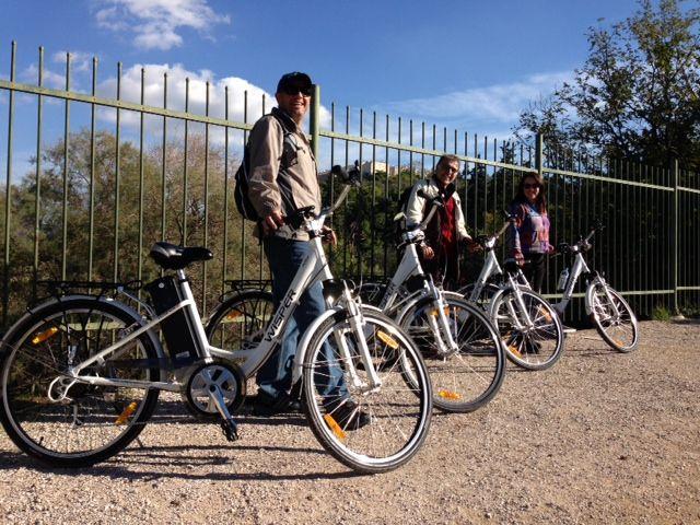 Dionysiou Areopagitou, Thission #e-bike sightseeing