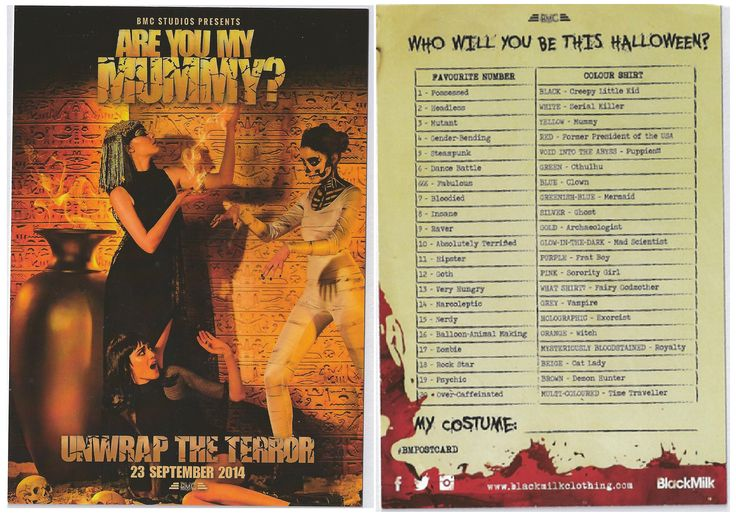 33. Are you my mummy? (Pulp horror)