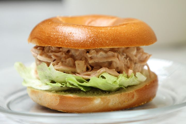 Chicken Salad Bagel by California Bakery